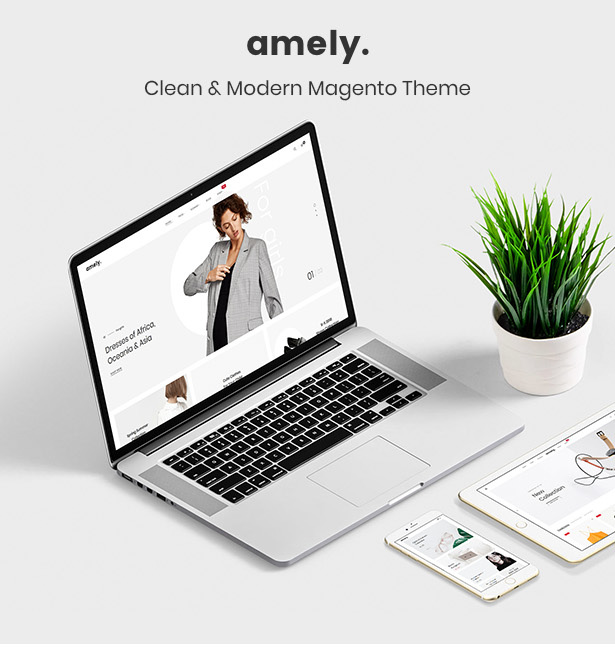 Amely - Clean & Modern Magento 2 Theme - 7