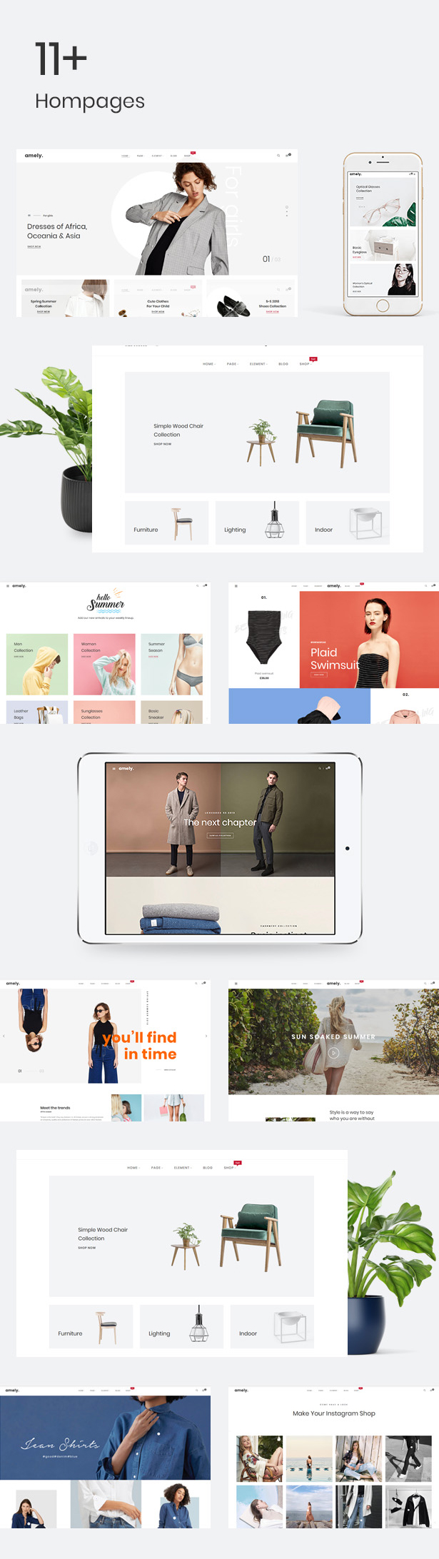 Amely - Clean & Modern Magento 2 Theme - 8