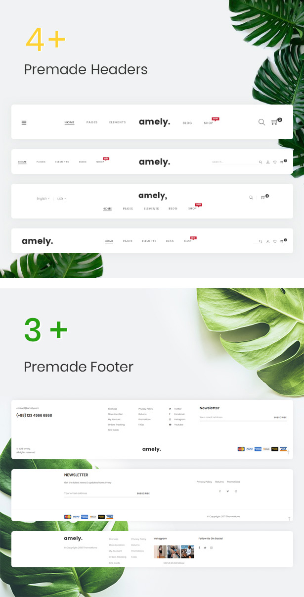 Amely - Clean & Modern Magento 2 Theme - 9