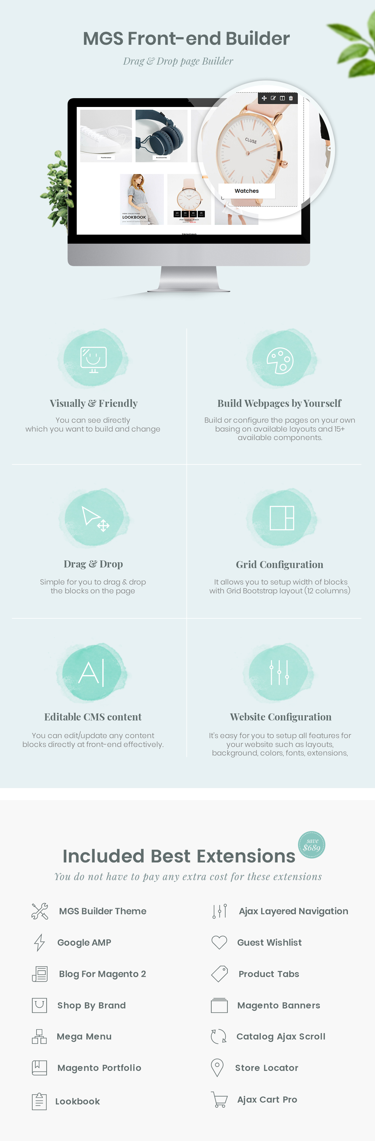 Claue - Clean, Minimal Magento 2 and 1 Theme - 8