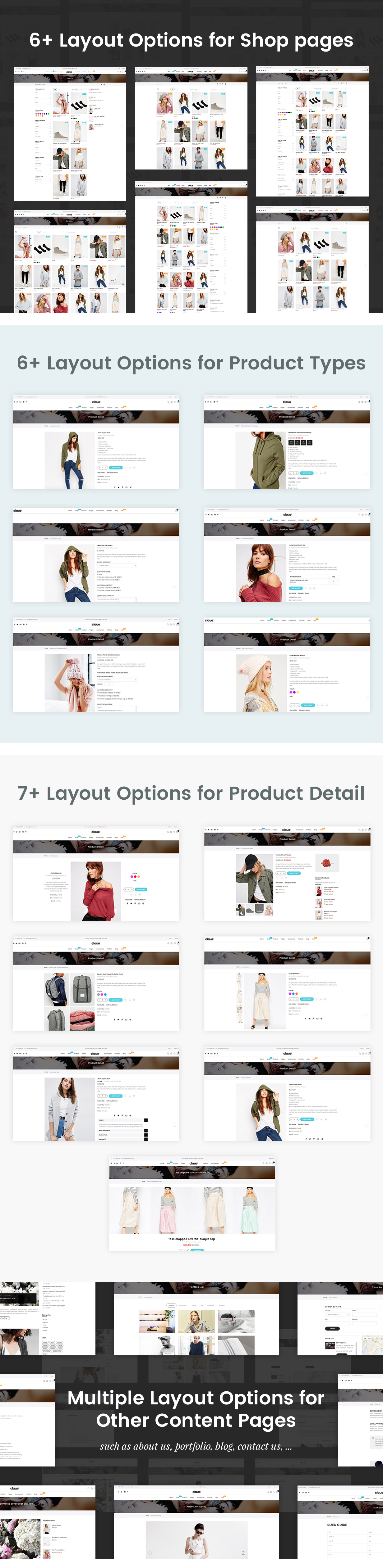 Claue - Clean, Minimal Magento 2 and 1 Theme - 25