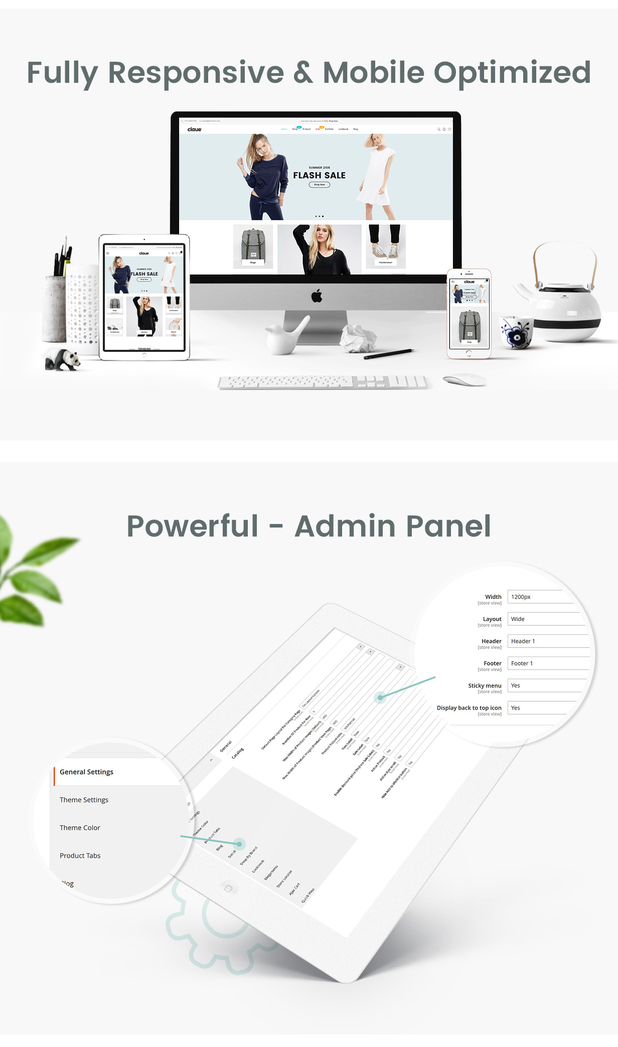 Claue - Clean, Minimal Magento 2 and 1 Theme - 11