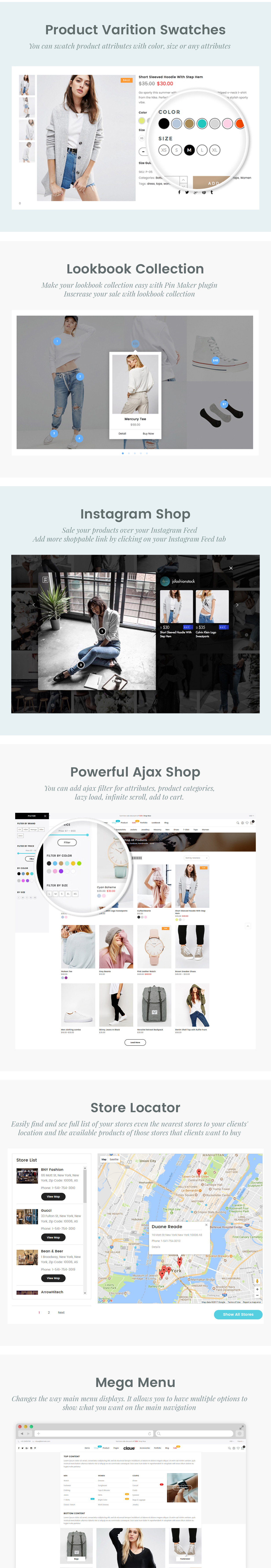 Claue - Clean, Minimal Magento 2 and 1 Theme - 17