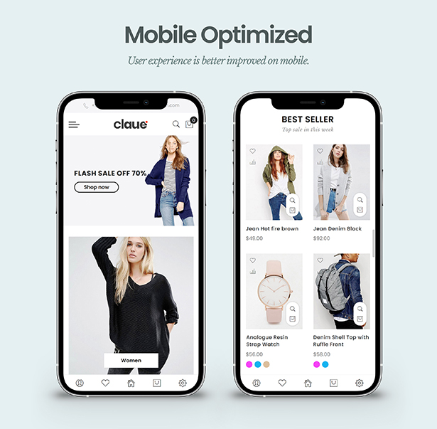 Claue - Clean, Minimal Magento 2 and 1 Theme - 12